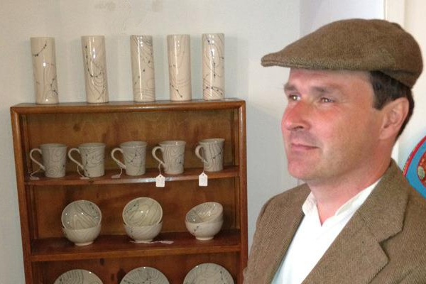 Mark with his creamic pottery range